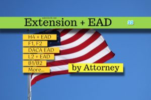 USA Extension with EAD